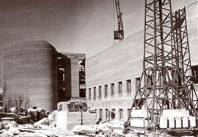 Строительство нового здания Института и Музея